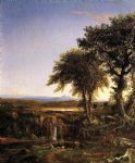 thomas cole summer twilight art