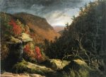 the clove catskills by thomas cole painting-24745