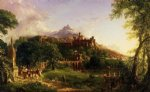 thomas cole the departure painting