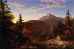 the hunter s return by thomas cole painting-24758