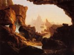 the subsiding waters of the deluge by thomas cole paintings-24766