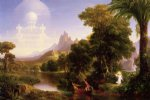 the voyage of life youth ii by thomas cole painting