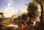the voyage of life youth by thomas cole paintings-24774