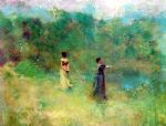 thomas dewing summer painting