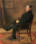 frank jay st. john by thomas eakins painting