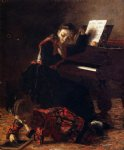 thomas eakins home scene painting