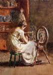 homespun by thomas eakins painting