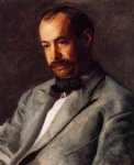 portrait paintings - portrait of charles percival buck by thomas eakins