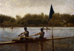 thomas eakins the biglin brothers turning the stake boat painting