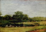 the meadows gloucester by thomas eakins painting