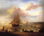 thomas gainsborough coastal scene painting