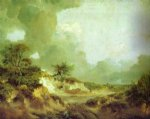 thomas gainsborough landscape with sandpit painting 24507