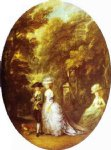 thomas gainsborough portrait of henry duke of cumberland with the duchess of cumberland and lady elizabeth luttrell painting 24535