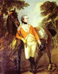 portrait paintings - portrait of john hayes st leger by thomas gainsborough
