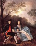 thomas gainsborough portrait of the artist with his wife and daughter painting 24538