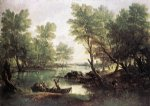 thomas gainsborough river landscape painting 24542