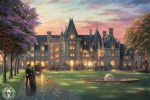 thomas kinkade elegant evening at biltmore painting