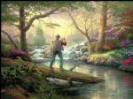thomas kinkade it doesn t get much better painting