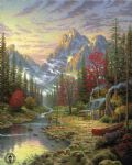 thomas kinkade the good life paintings