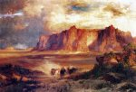 acoma by thomas moran painting