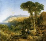 thomas moran amalfi coast painting