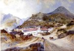 thomas moran angangueo mexico painting