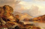 thomas moran autumn landscape oil painting