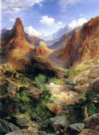 thomas moran bright angel trail paintings