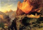 thomas moran cliff dwellers painting
