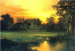 thomas moran east hampton long island painting