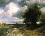 thomas moran east moriches painting