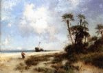 thomas moran fort george island ii painting