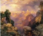 thomas moran grand canyon with rainbows prints