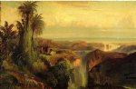 thomas moran indians on a cliff paintings