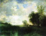 lowery day by thomas moran painting