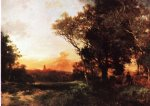 mexico by thomas moran painting