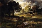 thomas moran romantic landscape painting 24357
