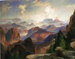 the grand canyon ii by thomas moran painting