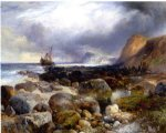 the morning after by thomas moran painting