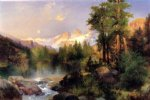 thomas moran the three tetons ii painting