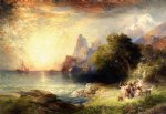 thomas moran ulysses and the sirens paintings