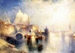 venice italy not named by thomas moran painting