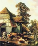 thomas sidney cooper a farm in kent paintings