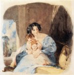 thomas sully mother with her children painting