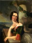 portrait paintings - portrait of elizabeth wharton mrs. william j. mccluney by thomas sully