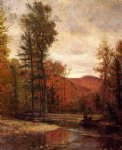 thomas worthington whittredge adirondack woodland with two deer painting-24103
