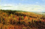 thomas worthington whittredge autumn landscape oil painting