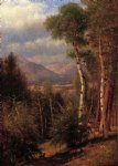 thomas worthington whittredge hunter in the woods of ashokan painting