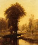thomas worthington whittredge indian summer painting