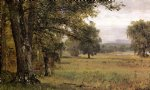 landscape paintings - landscape in the catskills by thomas worthington whittredge